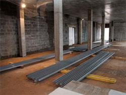 Нанесение антикоррозийных покрытий серии PilotQD Primer при строительстве завода «KnaufГипс» в Новомосковске